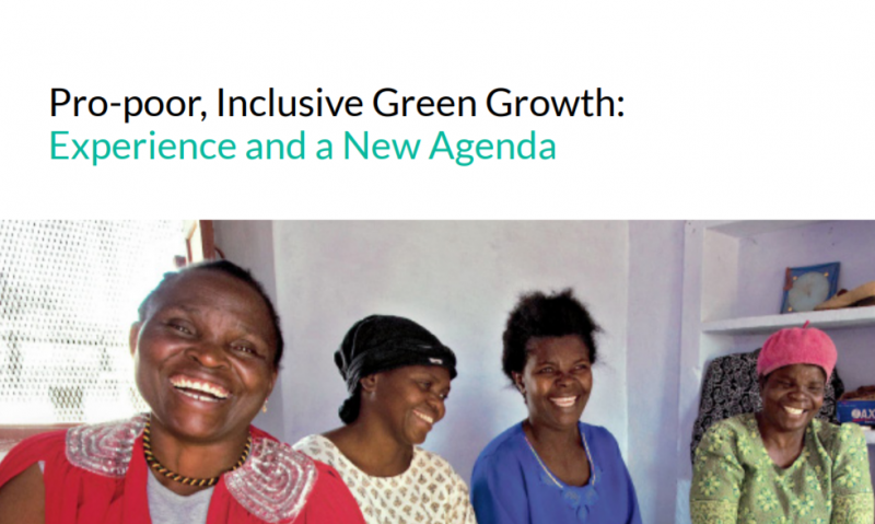 Pro Poor Inclusive Green Growth 2016 Thumb