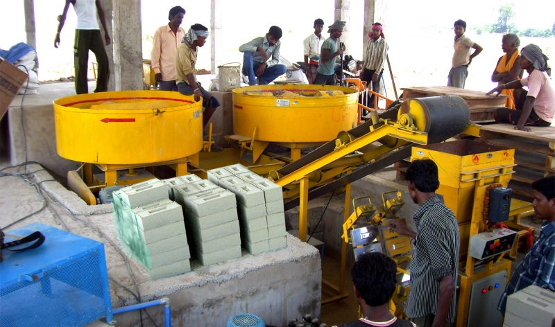 Tara Mech Ram Mxii Fly Ash Brick Making Technology